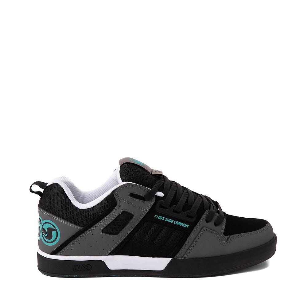Mens DVS Comanche 2.0+ Skate Shoe - Black / Charcoal / Turquoise