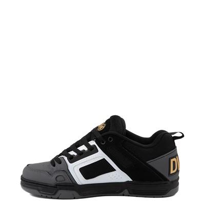 Alternate view of Mens DVS Comanche Skate Shoe - Black / White / Charcoal