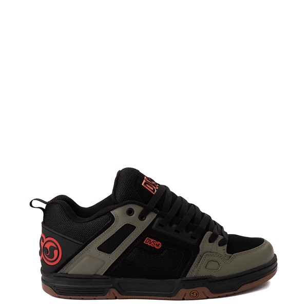 Mens DVS Comanche Skate Shoe - Black / Olive / Orange