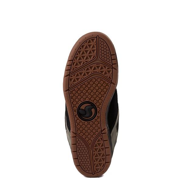 alternate view Mens DVS Comanche Skate Shoe - Black / Olive / OrangeALT3