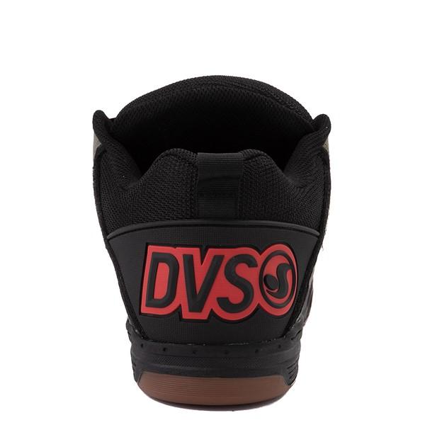 alternate view Mens DVS Comanche Skate Shoe - Black / Olive / OrangeALT4