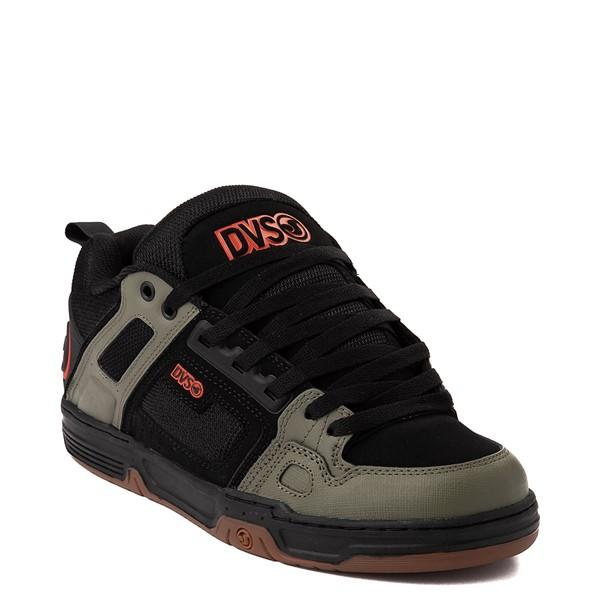 alternate view Mens DVS Comanche Skate Shoe - Black / Olive / OrangeALT5