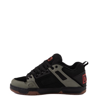 Alternate view of Mens DVS Comanche Skate Shoe - Black / Olive / Orange