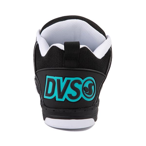 alternate view Mens DVS Comanche Skate Shoe - Black / Charcoal / TurquoiseALT4