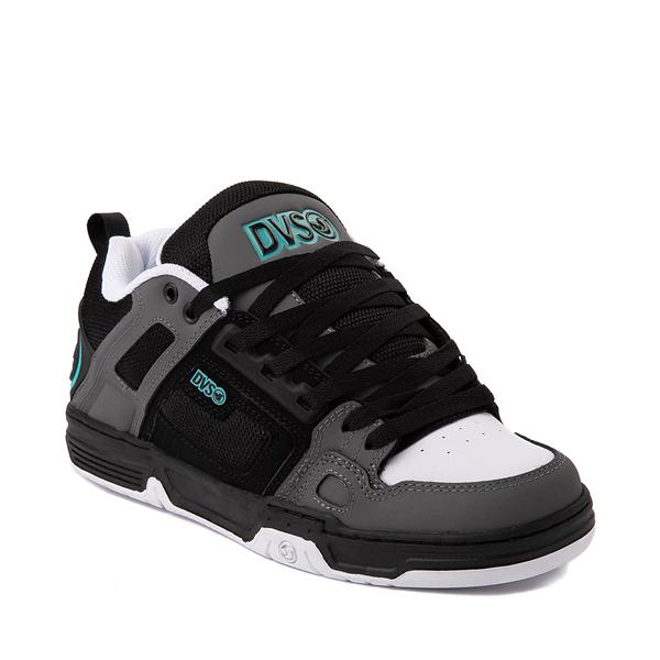 alternate view Mens DVS Comanche Skate Shoe - Black / Charcoal / TurquoiseALT5