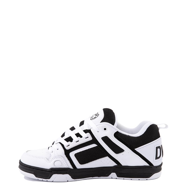 alternate view Mens DVS Comanche Skate Shoe - White / BlackALT1