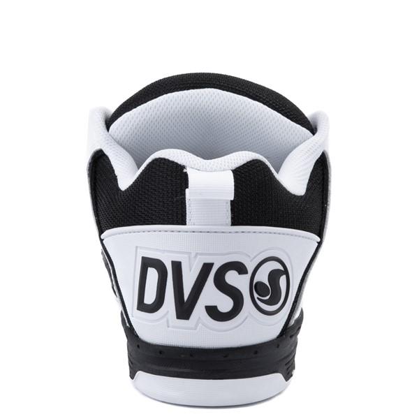 alternate view Mens DVS Comanche Skate Shoe - White / BlackALT2B