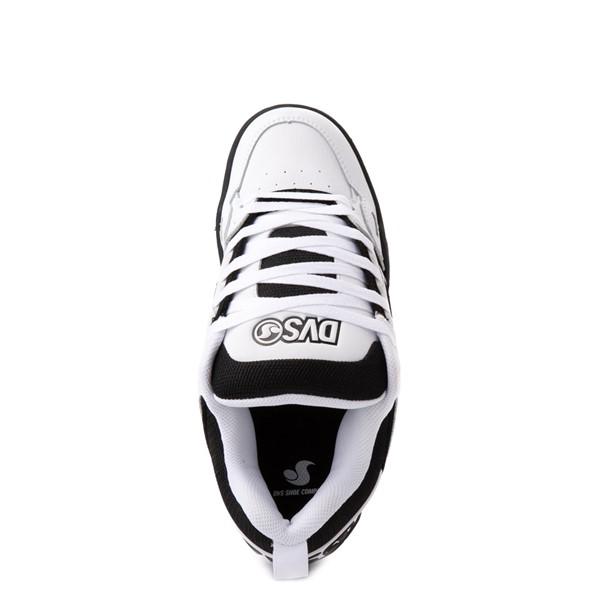 alternate view Mens DVS Comanche Skate Shoe - White / BlackALT4B