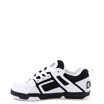 Alternate view of Mens DVS Comanche Skate Shoe - White / Black