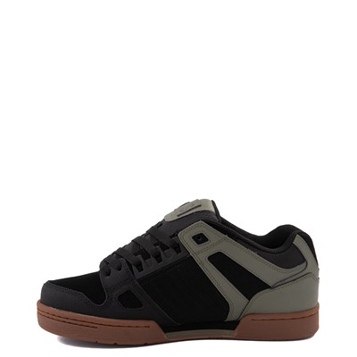 Alternate view of Mens DVS Celcius Skate Shoe - Black / Olive / Gum
