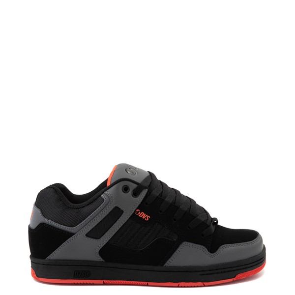 Mens DVS Enduro 125 Skate Shoe - Black / Charcoal / Orange