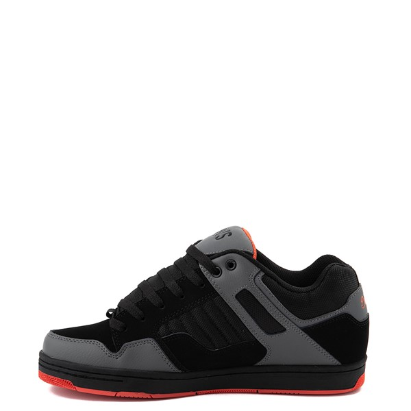 alternate view Mens DVS Enduro 125 Skate Shoe - Black / Charcoal / OrangeALT1