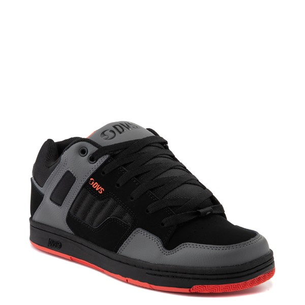 alternate view Mens DVS Enduro 125 Skate Shoe - Black / Charcoal / OrangeALT5