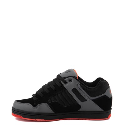 Alternate view of Mens DVS Enduro 125 Skate Shoe - Black / Charcoal / Orange