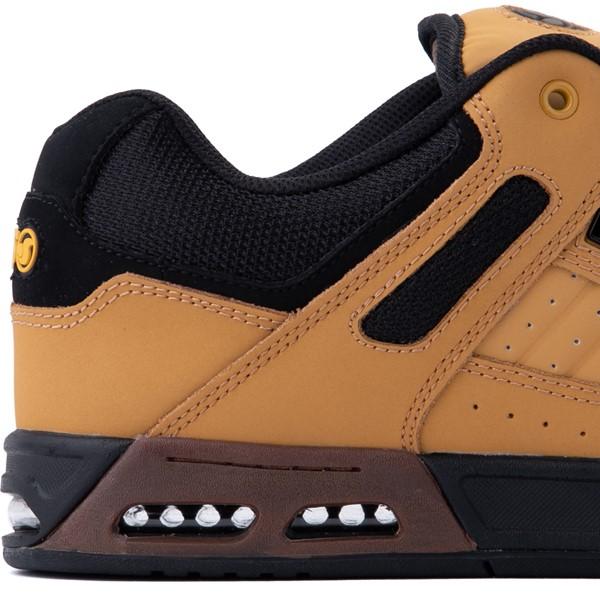 alternate view Mens DVS Enduro Heir Skate Shoe - Chamois / BlackALT3B