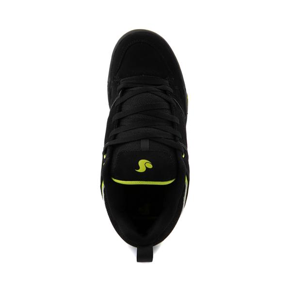 alternate view Mens DVS Gambol Skate Shoe - Black / LimeALT2