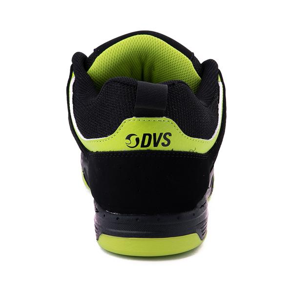 alternate view Mens DVS Gambol Skate Shoe - Black / LimeALT4