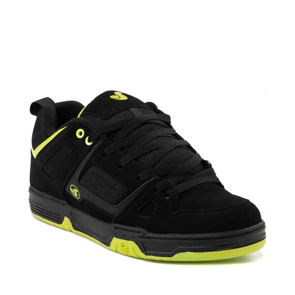 alternate view Mens DVS Gambol Skate Shoe - Black / LimeALT5