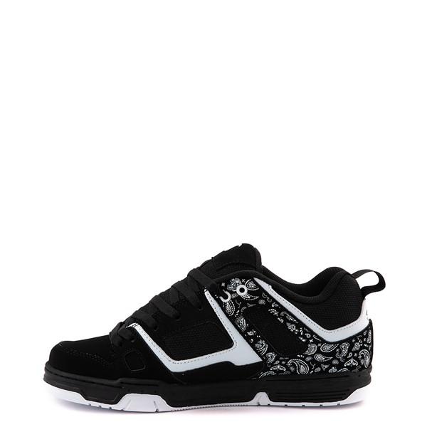 alternate view Mens DVS Gambol Skate Shoe - Black / WhiteALT1