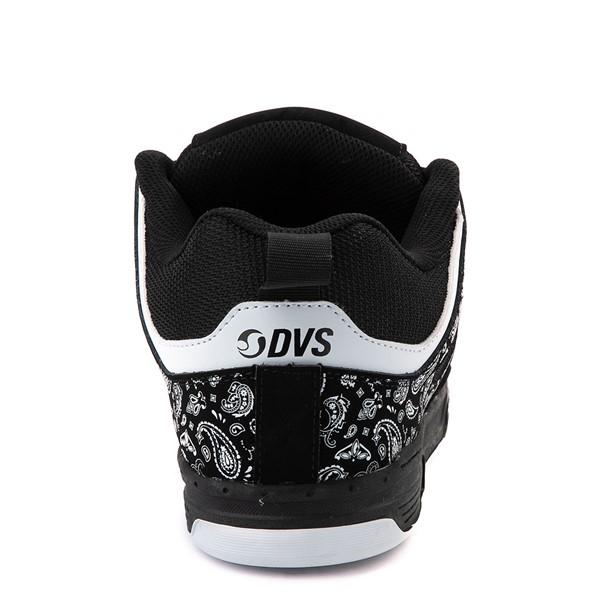alternate view Mens DVS Gambol Skate Shoe - Black / WhiteALT4