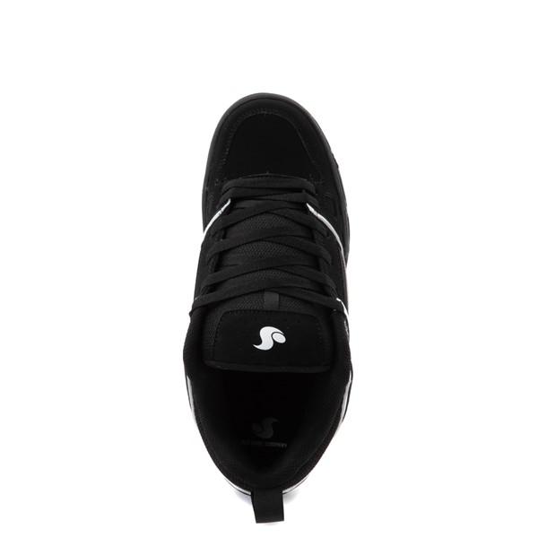 alternate view Mens DVS Gambol Skate Shoe - Black / WhiteALT4B