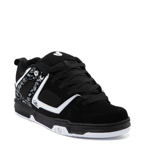 alternate view Mens DVS Gambol Skate Shoe - Black / WhiteALT5