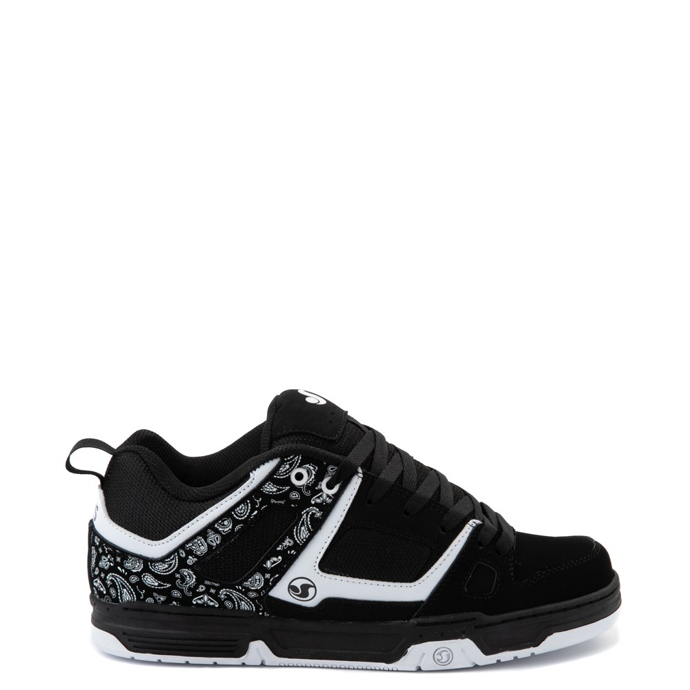 Mens DVS Gambol Skate Shoe - Black / White