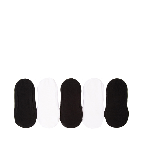 alternate view Invisible Liners 5 Pack - Toddler - Black / WhiteALT1