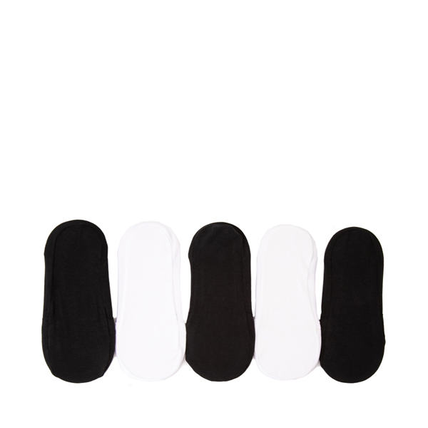 alternate view Invisible Liners 5 Pack - Little Kid - Black / WhiteALT1