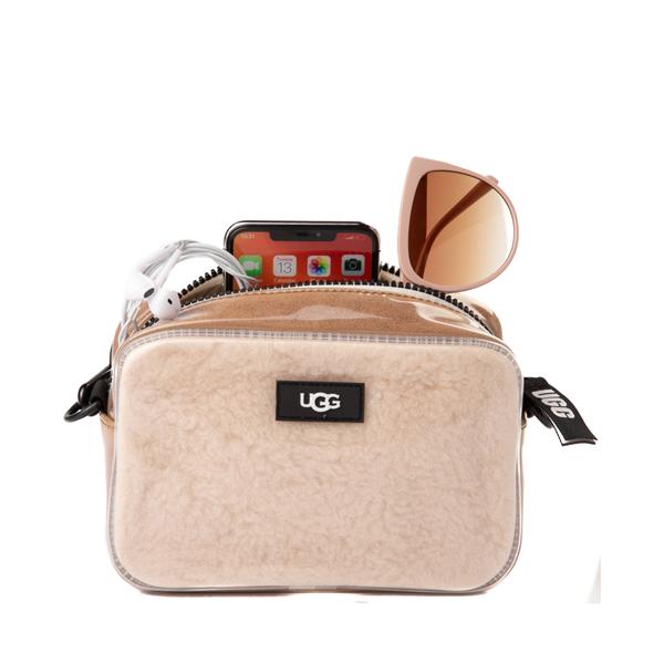 alternate view UGG® Janey II Crossbody Bag - Clear / NaturalALT1