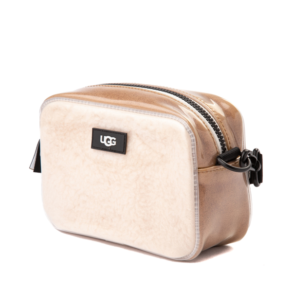 alternate view UGG® Janey II Crossbody Bag - Clear / NaturalALT4
