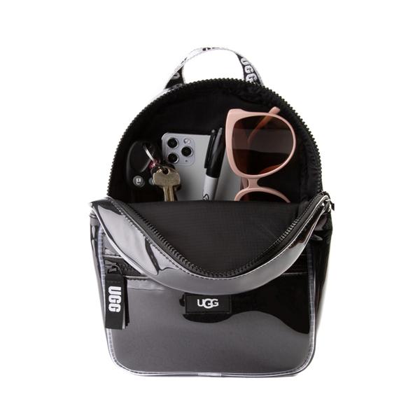 alternate view UGG® Dannie II Mini Backpack - Clear / BlackALT1