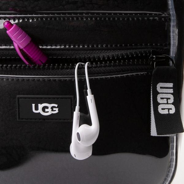 alternate view UGG® Dannie II Mini Backpack - Clear / BlackALT3B