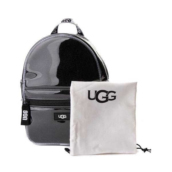 alternate view UGG® Dannie II Mini Backpack - Clear / BlackALT3C