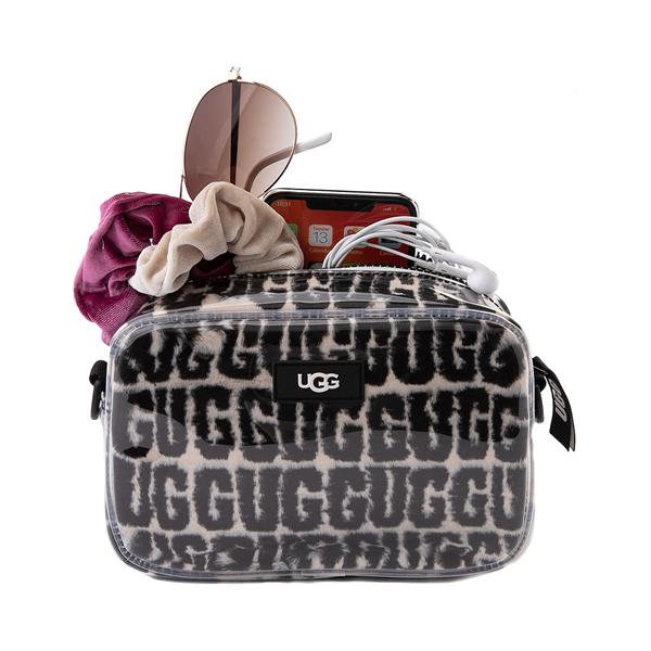 alternate view UGG® Janey II Crossbody Bag - Clear / BlackALT1