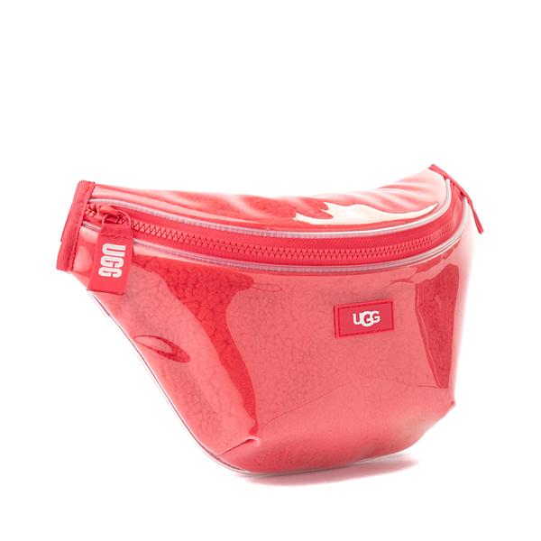 alternate view UGG® Nasha Belt Bag - Clear / PinkALT4