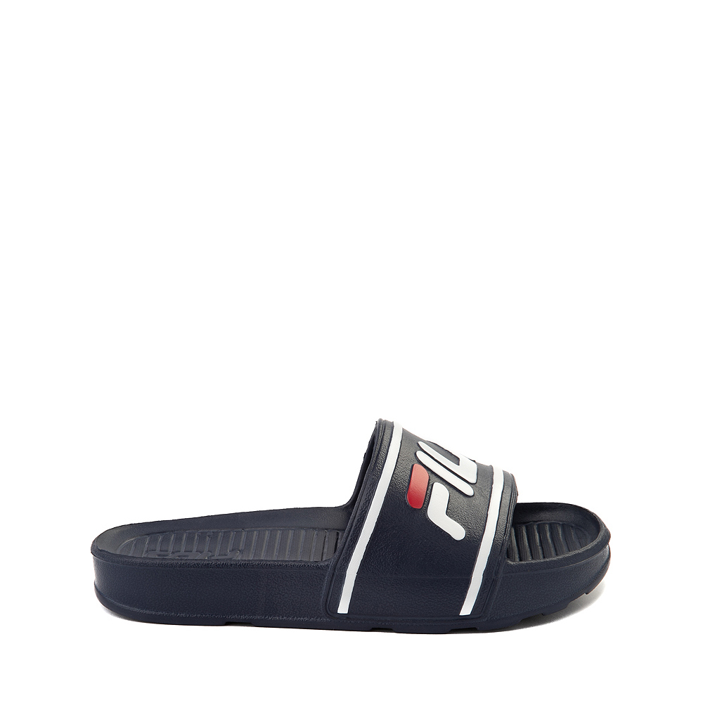 Fila Sleek Slide Sandal - Little Kid / Big Kid - Navy