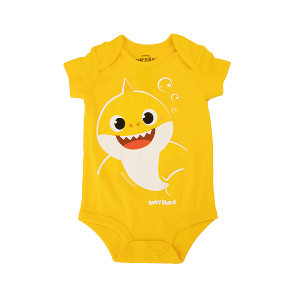 Baby Shark Snap Tee - Baby - Yellow