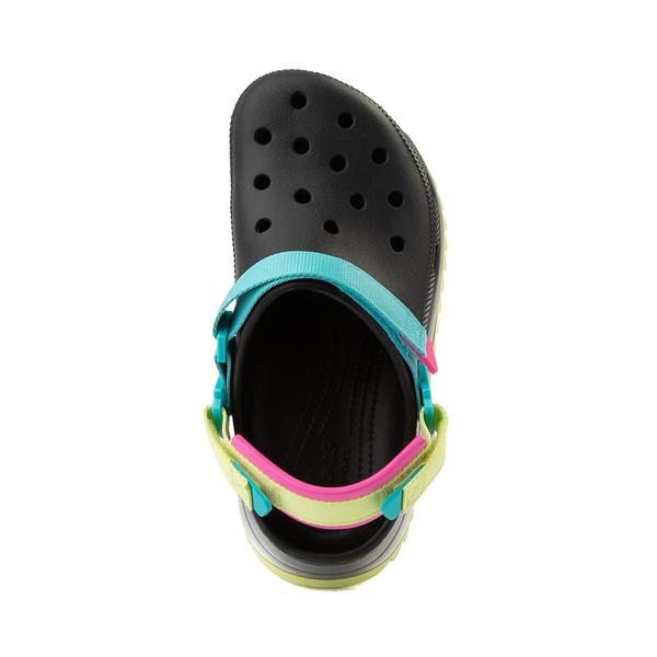 alternate view Crocs Classic Hiker Clog - Black / MulticolorALT2