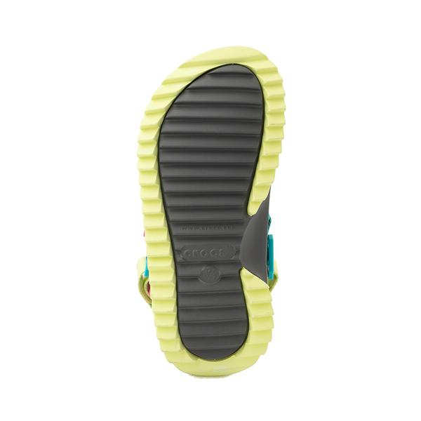 alternate view Crocs Classic Hiker Clog - Black / MulticolorALT3