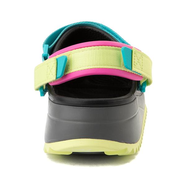 alternate view Crocs Classic Hiker Clog - Black / MulticolorALT4