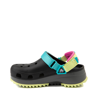 Alternate view of Crocs Classic Hiker Clog - Black / Multicolor