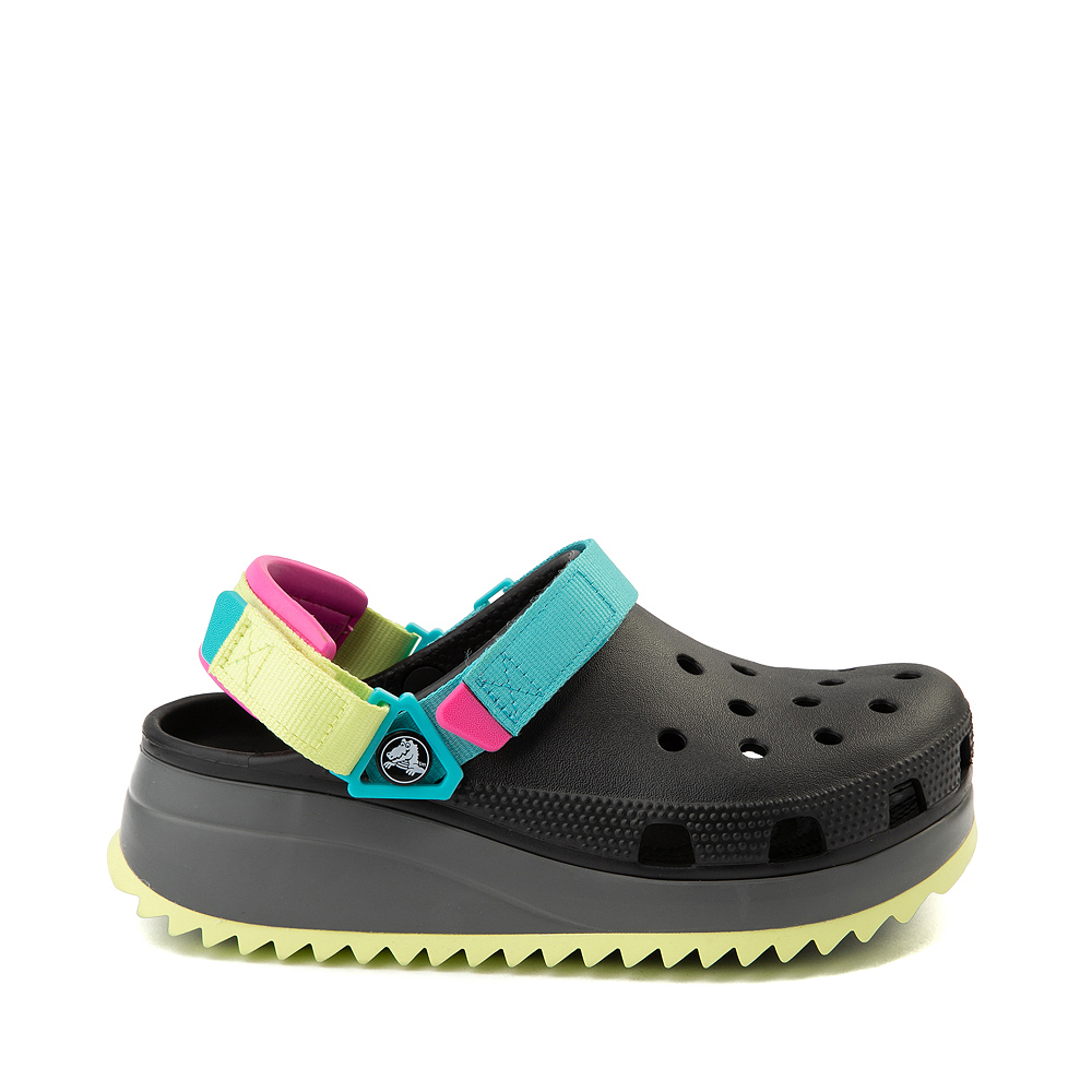 Crocs Classic Hiker Clog - Black / Multicolor
