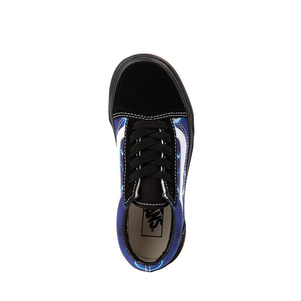 alternate view Vans Old Skool Skate Shoe - Little Kid - Black / LightningALT2