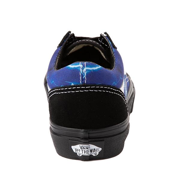 alternate view Vans Old Skool Skate Shoe - Little Kid - Black / LightningALT4