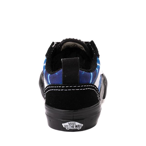 alternate view Vans Old Skool Skate Shoe - Baby / Toddler - Black / LightningALT4