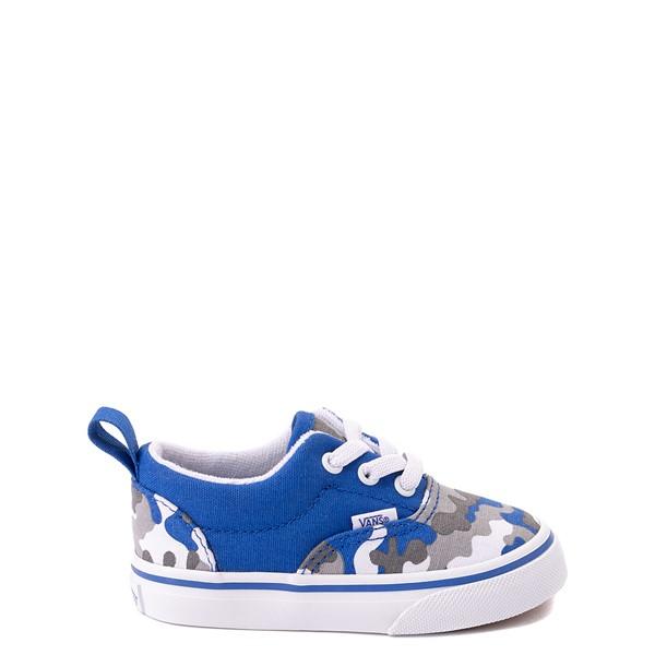Main view of Vans Era Skate Shoe - Baby / Toddler - Nautical Blue Camo