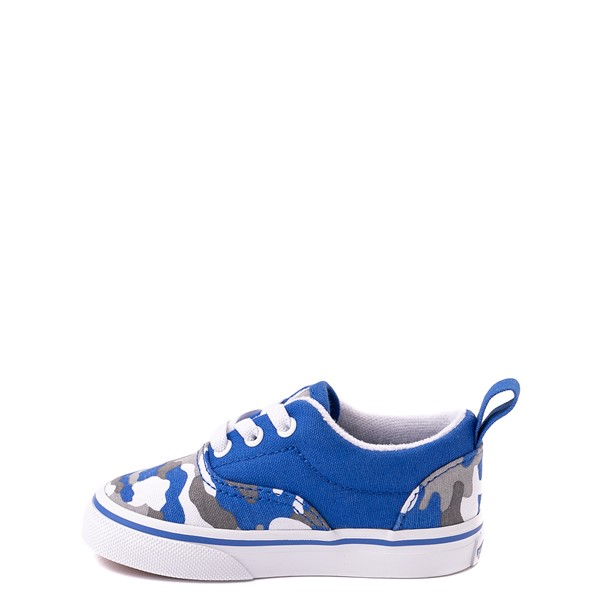 alternate view Vans Era Skate Shoe - Baby / Toddler - Nautical Blue CamoALT1