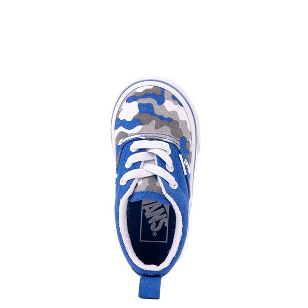 alternate view Vans Era Skate Shoe - Baby / Toddler - Nautical Blue CamoALT2