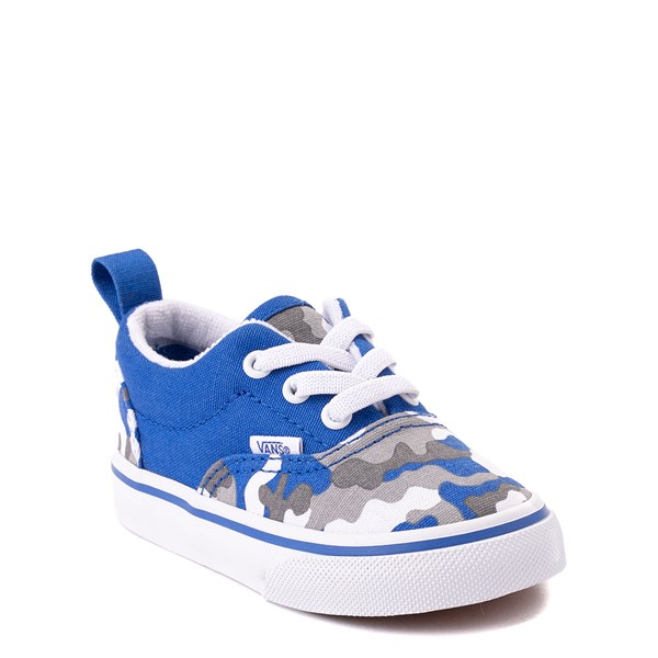 alternate view Vans Era Skate Shoe - Baby / Toddler - Nautical Blue CamoALT5
